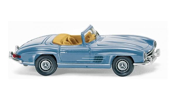 Wiking 083407 - MB 300 SL Roadster - hellblau - 1:87