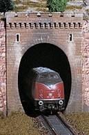 Vollmer 42501 - Tunnelportal 1gleisig - H0 (2501)