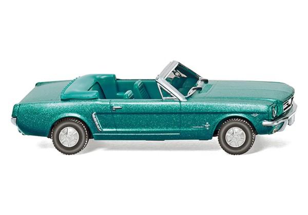 Wiking 020547 - Ford Mustang Cabriolet - türkisgrün-metallic - 1:87
