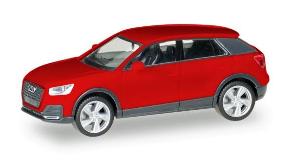 Herpa 038676-002 - Audi Q2, tangorot metallic - 1:87