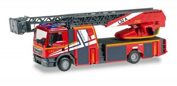 """Herpa 092685 - MAN TGM Metz Drehleiter XS """"Feuerwehr Goslar"""" - 1:87"""
