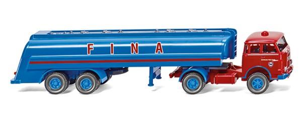 """Wiking 088248 - Tanksattelzug MAN Pausbacke """"Fina"""" - 1:87"""
