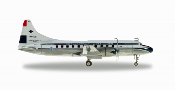 """Herpa Wings 559393 - KLM Convair CV-340 - PH-TGD """"Pieter Brueghel"""" - 1:200"""