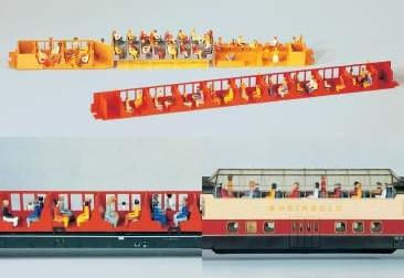 Kibri 8114 - Sitzende Figuren - H0