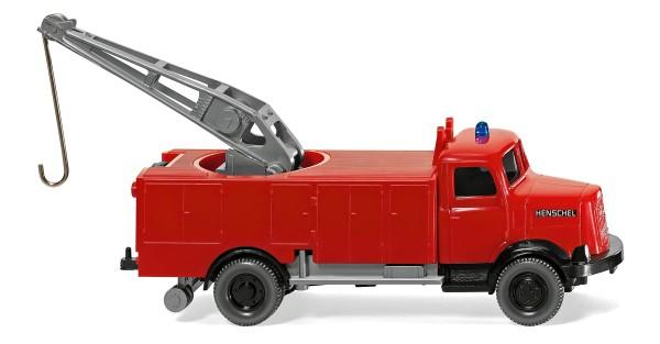 Wiking 086138 - Feuerwehr - Rüstwagen (Henschel HS 100) - 1:87