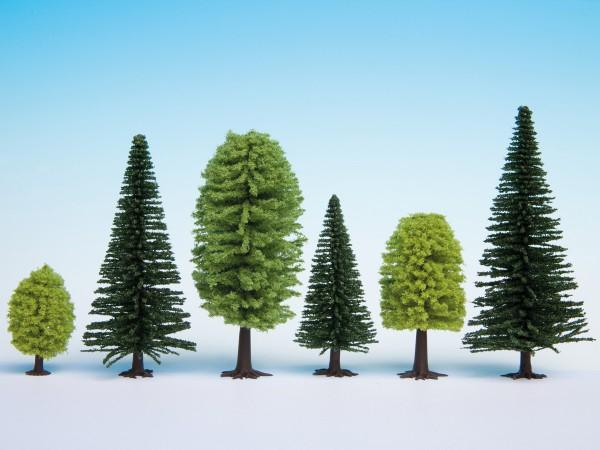 NOCH 26911 - Hobby Mischwald, 10 Bäume, 5 - 14 cm hoch - H0 / TT