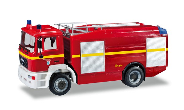 """Herpa 093927 - MAN M 2000 EVO Tanklöschfahrzeug """"Feuerwehr Ingolstadt"""" - 1:87"""