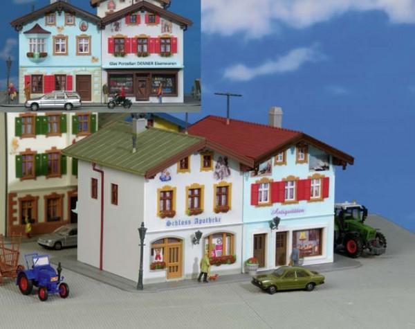 Kibri 38821 (8821) - Schlossapotheke in Tölz (mit Lüftlmalerei) - H0