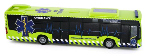 Rietze 73477 - Mercedes-Benz Citaro ´15 Ambulance GRTW Basel (CH) - 1:87