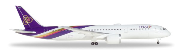 "Herpa Wings 531467 - Thai Airways Boeing 787-9 Dreamliner - HS-TWA ""Phattana Nikhom"" - 1:500"
