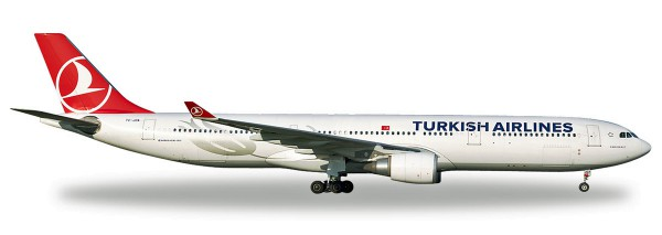 """Herpa Wings 531443 - Turkish Airlines Airbus A330-300 - TC-JOA """"Pamukkale"""" - 1:500"""