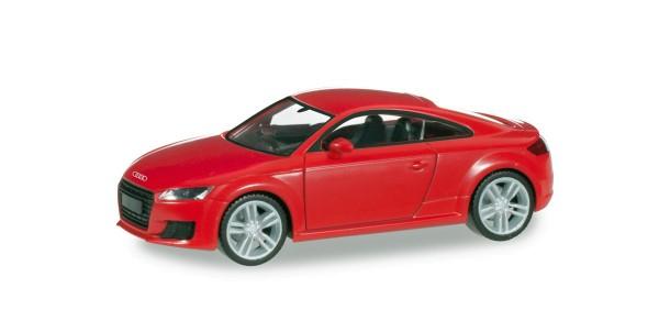 Herpa 028356 - Audi TT Coupé, brillantrot - 1:87