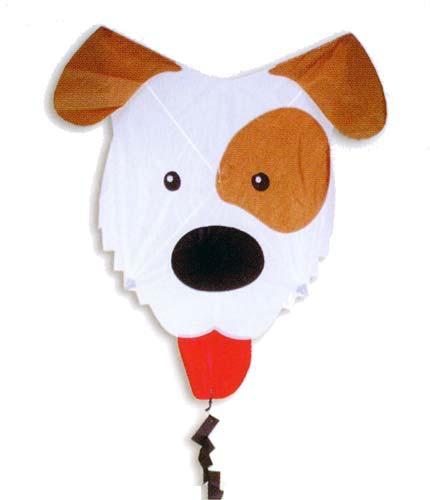 Premier Kites - Kinderdrachen Funflyer Hund - 65 x 65 cm R2F