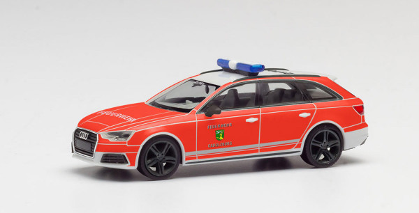 """Herpa 095303 - Audi A4 Avant """"Feuerwehr Cadolzburg"""" - 1:87"""