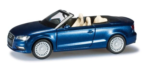 herpa 038300 - Audi A3® Cabrio, scubablau perleffekt - 1:87