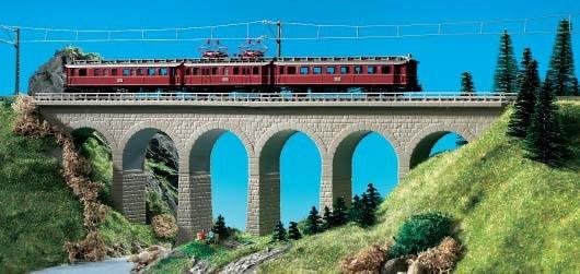 Kibri 37663 (7663) - Ravenna-Viadukt eingleisig - N