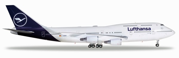 "Herpa Wings 559485 - Lufthansa - new 2018 colors Boeing 747-400 - D-ABVM ""Kiel"" - limitiert - 1:200"
