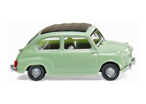 Wiking 009902 - Fiat 600 - weißgrün - 1:87