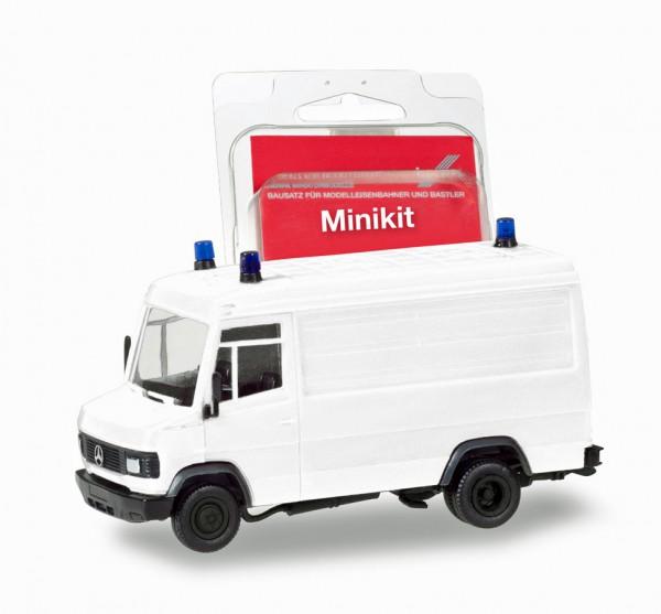Herpa 013482 - Herpa MiniKit: Mercedes-Benz T2 Kasten, weiß - 1:87