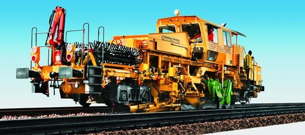 Kibri 16060 - Schotterverteil- und Profiliermaschine - H0