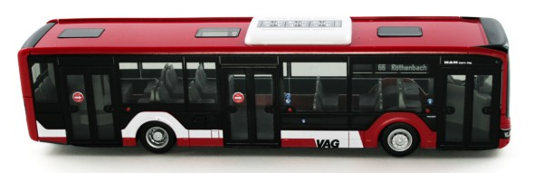 Rietze 75303 - MAN Lion´s City 12 ´18 3trg. VAG Nürnberg - 1:87