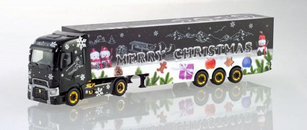 """Herpa 310710 - Renault T Koffer-Sattelzug """"Herpa Weihnachtstruck 2019"""" - 1:87"""