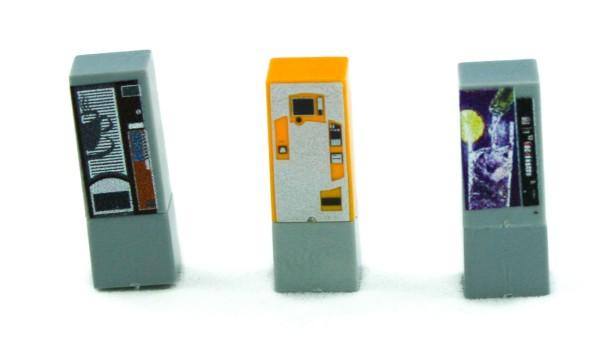 Rietze 70198 - Getränkeautomaten (3 Stück) - 1:87