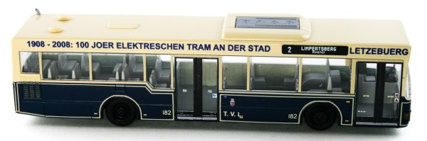 Rietze 75003 - MAN NL 202-2 TVL (LU) - 1:87 - Collectors Edition