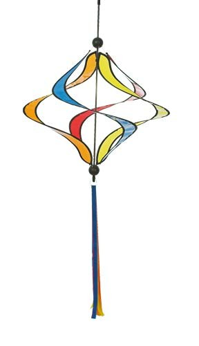 Invento-HQ Windspiel Helix Twister Rainbow (40 x 100 cm)