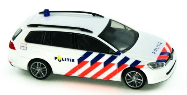 Rietze 53302 - VW Golf 7 Variant Politie (NL) - 1:87