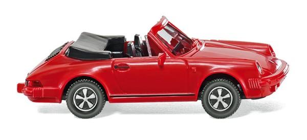 Wiking 016203 - Porsche 911 SC Cabriolet - rot - 1:87