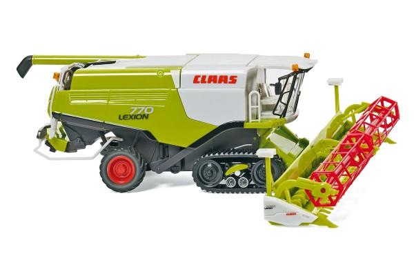 Wiking 038912 - Claas Lexion 770 TT Mähdrescher mit V 1050 Getreidevorsatz - 1:87