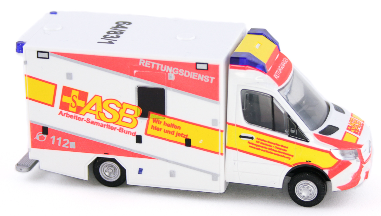 "76226-1:87 Rietze GSF RTW /'18 /""ASB Northeim// Osterode/"""