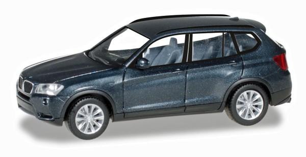 Herpa 034630-003 - BMW X3™, saphirschwarz metallic - 1:87