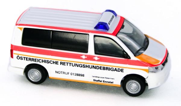 Rietze 53441 - Volkswagen T5 ´10 Österr. Rettungshundebrigade Oberösterreich (AT) - 1:87