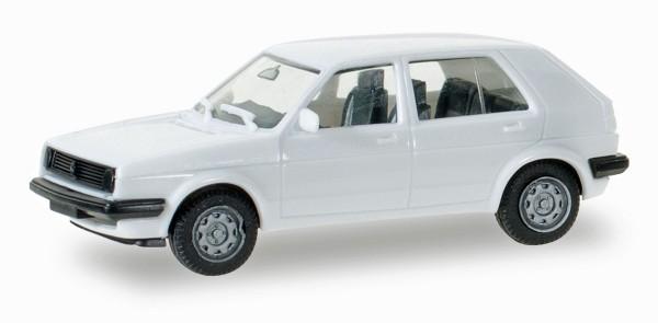 Herpa 012195-006 - Herpa MiniKit: VW Golf II 4-türig, weiß - 1:87