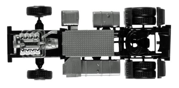 Herpa 084826 - Zugmaschinen-Fahrgestell Scania CR / CS Lowliner Inhalt: 2 Stück - 1:87