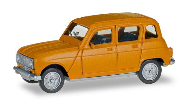 Herpa 020190-006 - Renault R4, narzissengelb - 1:87