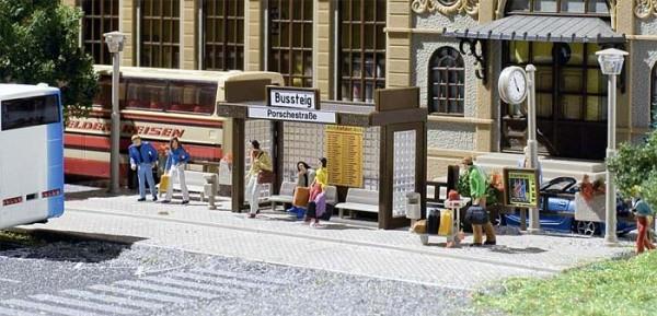 Vollmer 45155 - Bushaltestelle (ohne Bus) - H0 (5155)