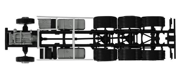 Herpa 084703 - Fahrgestell Volvo 4-achs LKW mit Chassisverkleidung (Inhalt: 2 Stück) - 1:87