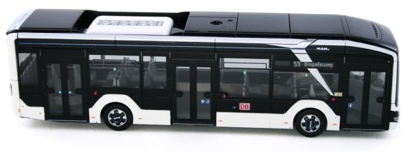 Rietze 76309 - MAN Lion´s City 12´18 electric DB Frankfurt - 1:87 - Bahn Edition