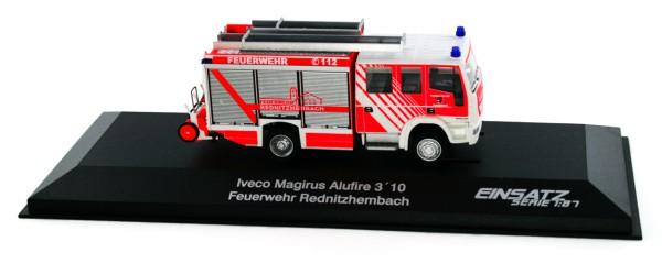 Rietze 68307 - Iveco Magirus Alufire HLF 20 Feuerwehr Rednitzhembach - 1:87 - Einsatzserie