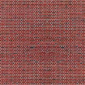 Vollmer 46042 - Mauerplatte Klinker, rot - Karton - H0 (6042) - Fläche: 0,031m²