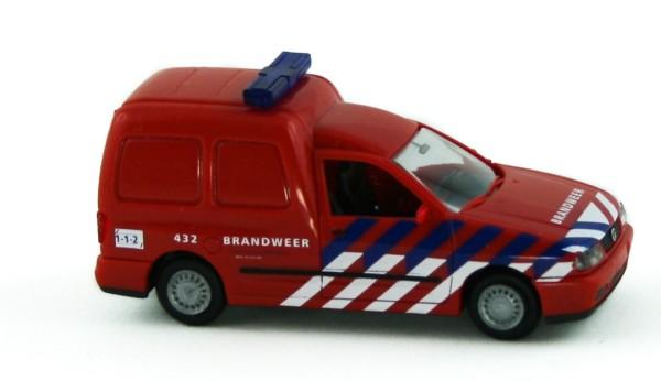 Rietze 50848 - Volkswagen Caddy Kasten Brandweer Amsterdam (NL) - 1:87