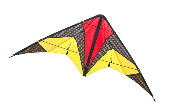 Invento-HQ Lenkdrachen Quickstep II Graphite R2F (135 x 60 cm)