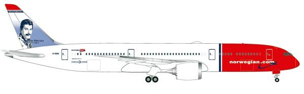 """Herpa Wings 530170-001 - Norwegian Boeing 787-9 Dreamliner - G-CKNA """"Freddie Mercury"""" - 1:500"""
