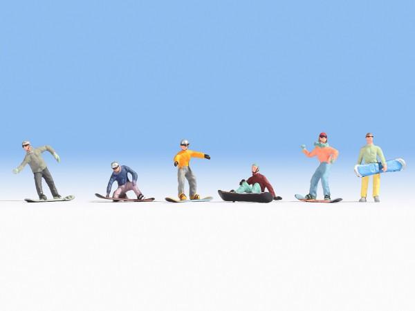 NOCH 15826 - Snowboarder - H0