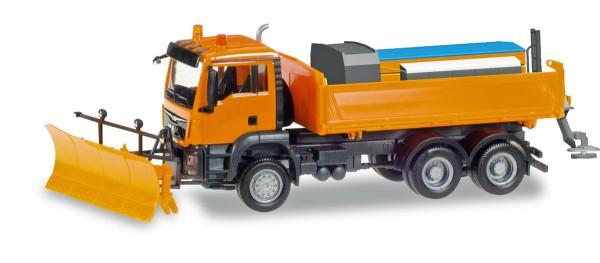 Herpa 307772 - MAN TGS M 6x6 Winterdienstfahrzeug kommunal - 1:87
