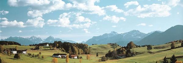 Vollmer 46110 - Hintergrund Schongau - H0 (6110)