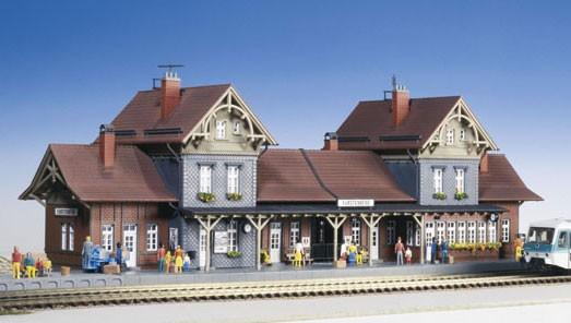 Kibri 39367 (9367) - Bahnhof Fürstenberg - H0